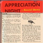 Bound Stems- Appreciation night