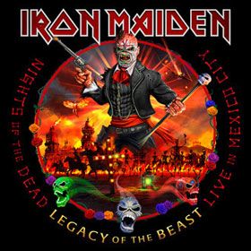 Iron Maiden - Nights of the dead, legacy of the beast – Live in Mexico City