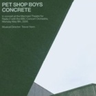 Pet Shop Boys - Concrete - In concert at the Mermaid Theatre